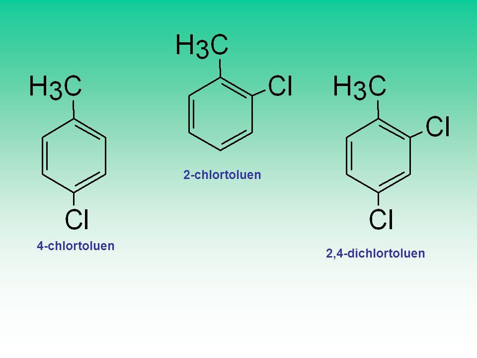 2-chlortoluen 4-chlortoluen 2,4-dichlortoluen