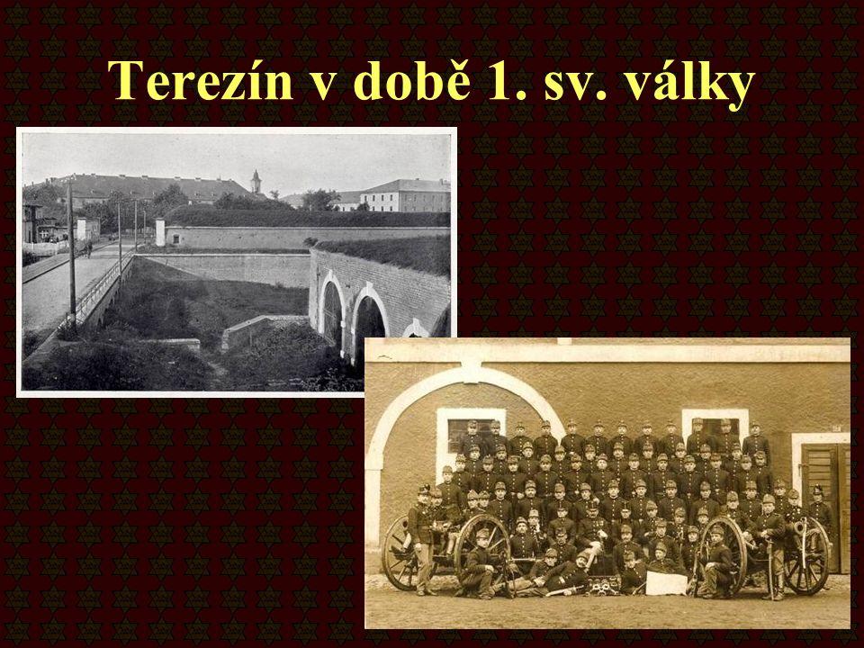 Terezín v době 1. sv. války