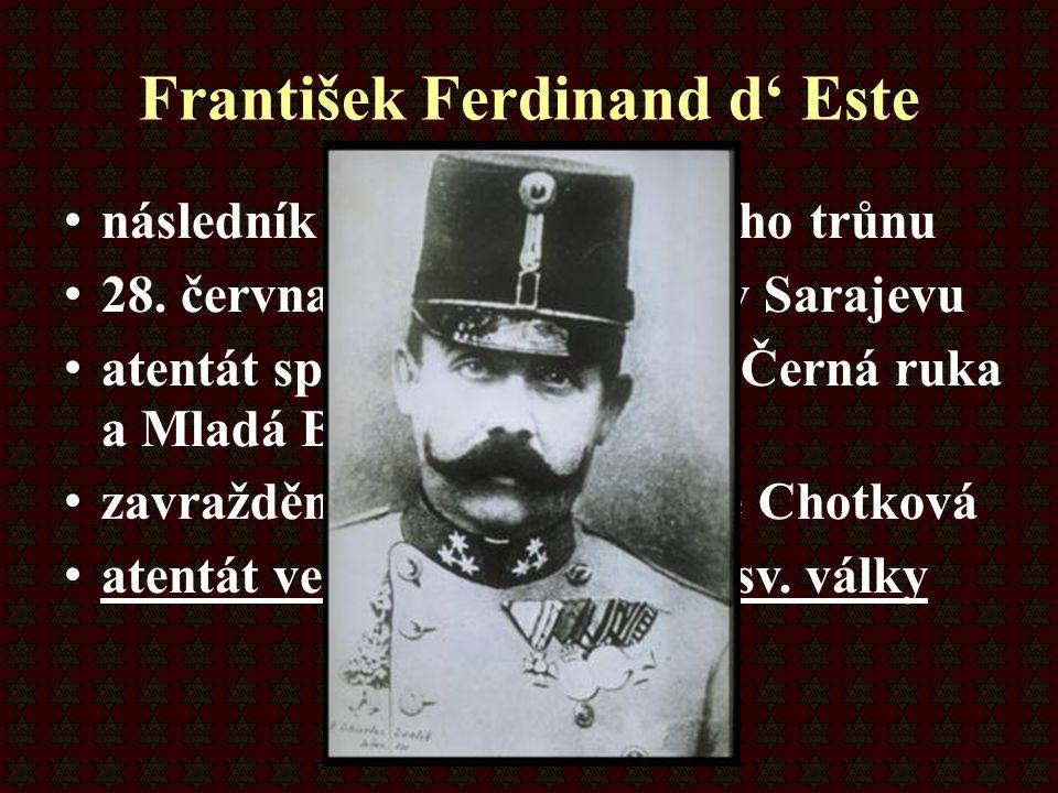 František Ferdinand d' Este