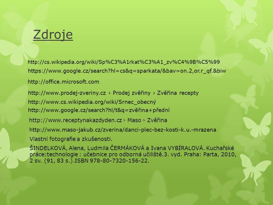 Zdroje http://www.receptynakazdyden.cz › Maso › Zvěřina