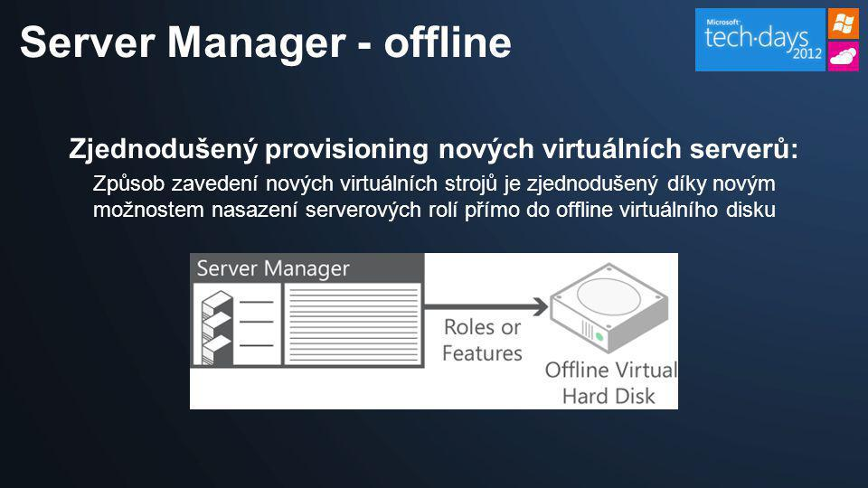 Server Manager - offline