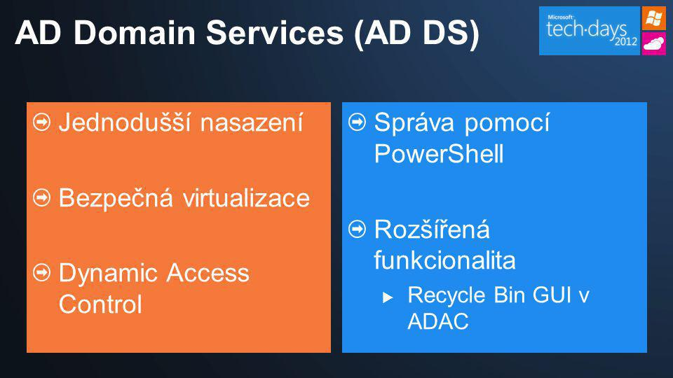 AD Domain Services (AD DS)