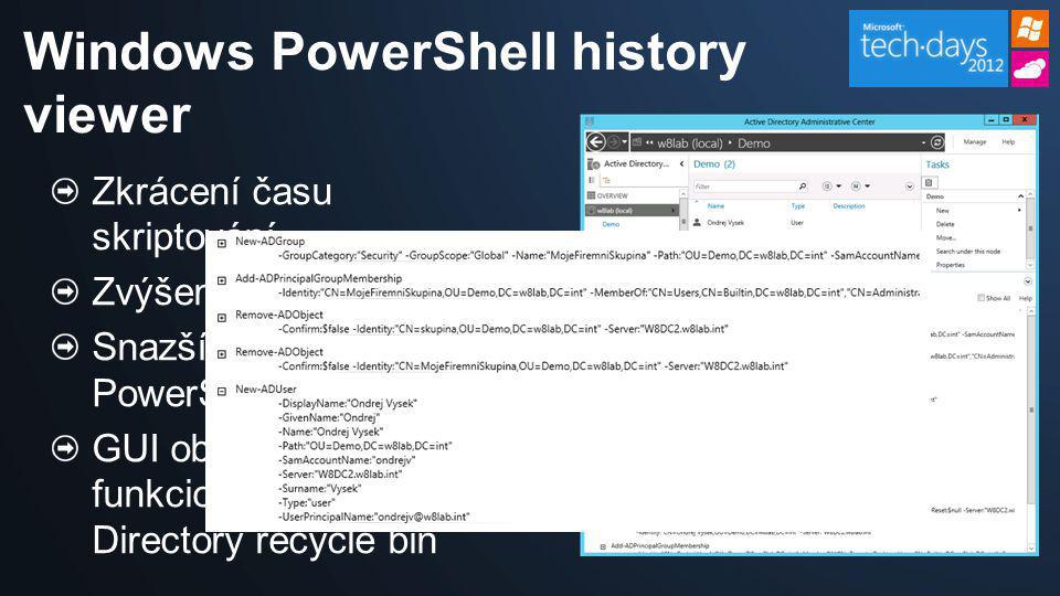 Windows PowerShell history viewer