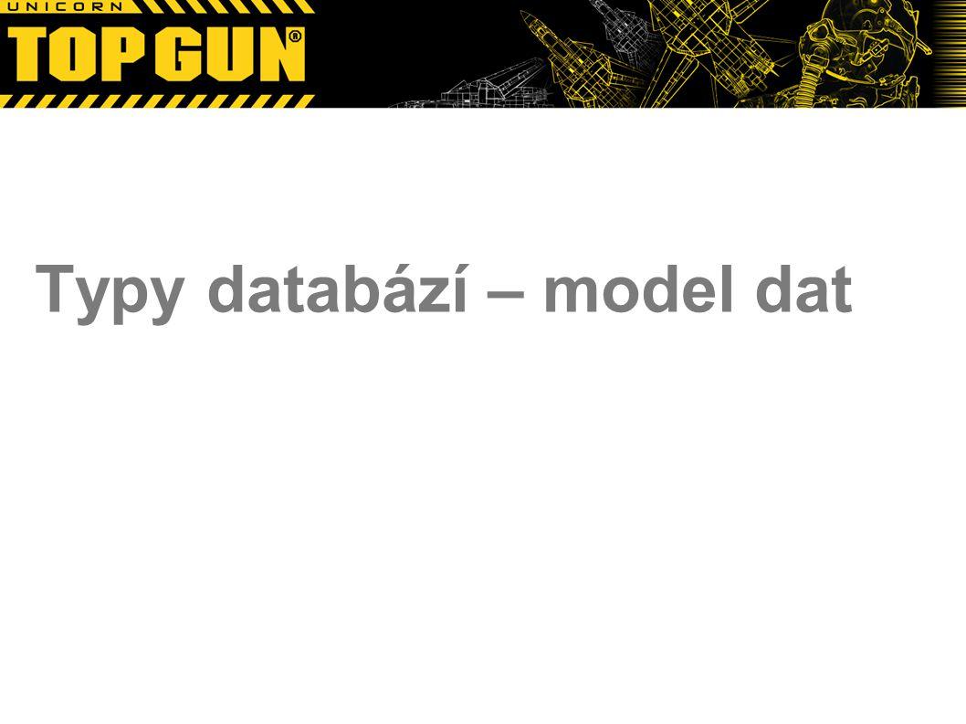 Typy databází – model dat