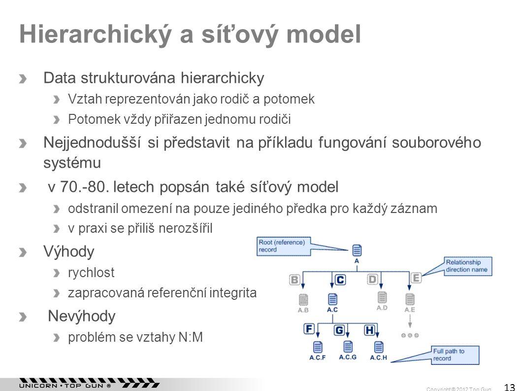 Hierarchický a síťový model