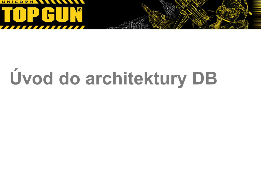 Úvod do architektury DB
