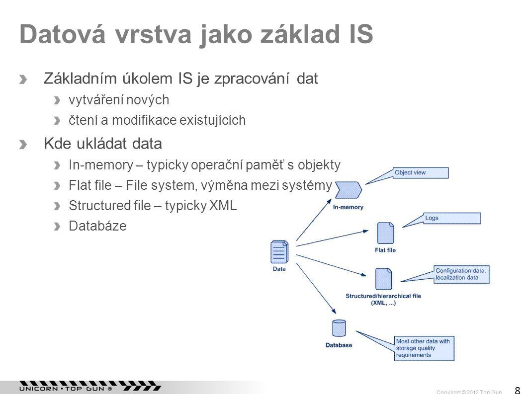 Datová vrstva jako základ IS