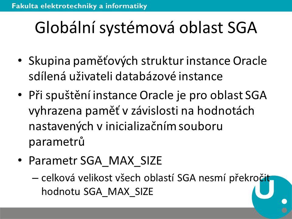 Globální systémová oblast SGA