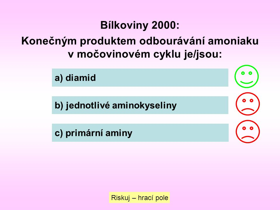 Konečným produktem odbourávání amoniaku v močovinovém cyklu je/jsou: