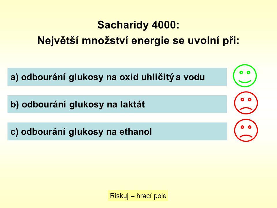 Největší množství energie se uvolní při: