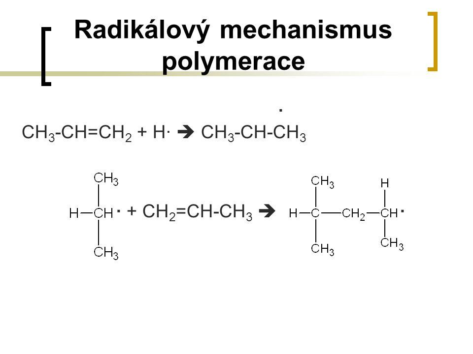 Radikálový mechanismus polymerace
