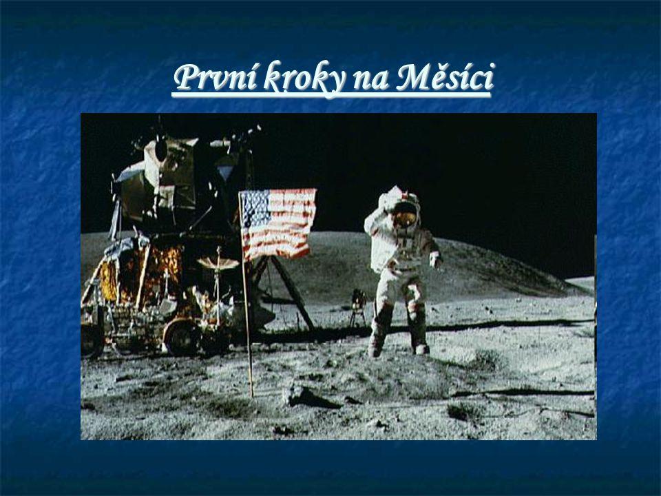 První kroky na Měsíci