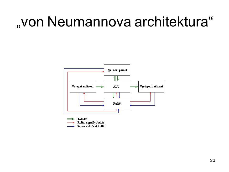 """""""von Neumannova architektura"""