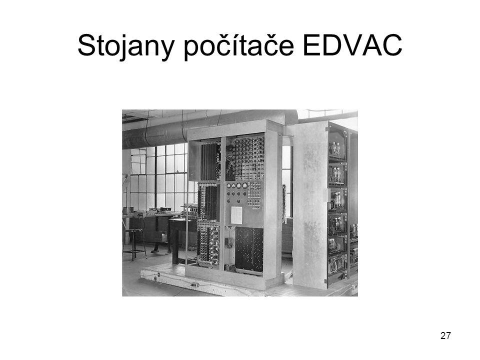 Stojany počítače EDVAC