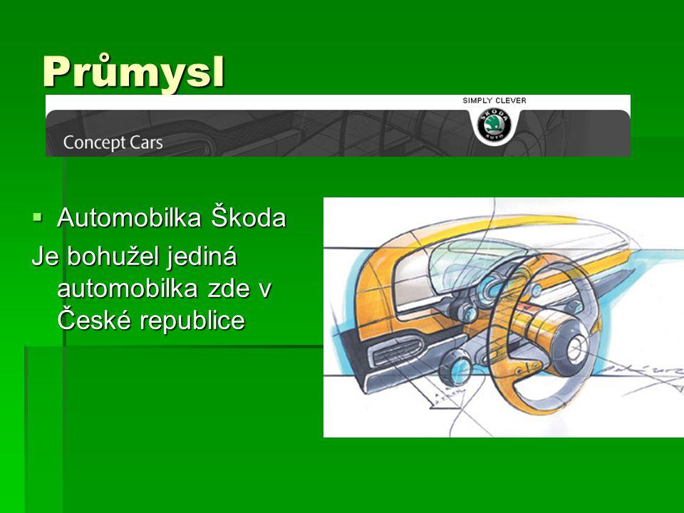Průmysl Automobilka Škoda
