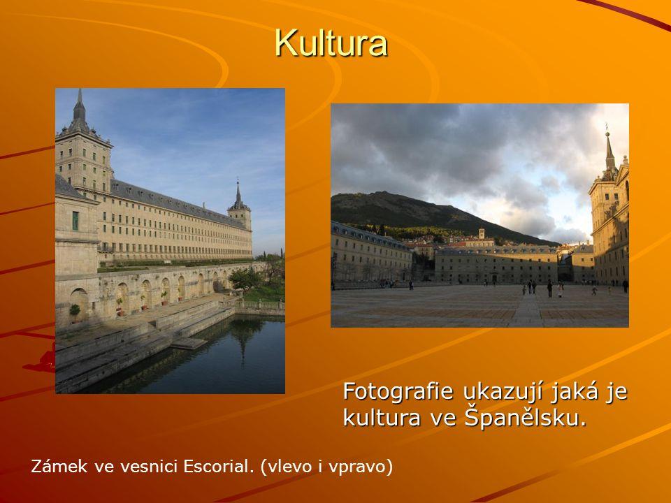 Kultura Fotografie ukazují jaká je kultura ve Španělsku.
