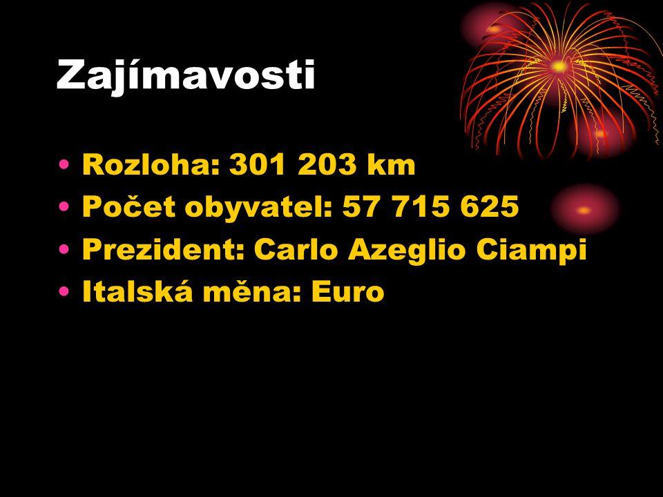 Zajímavosti Rozloha: 301 203 km Počet obyvatel: 57 715 625