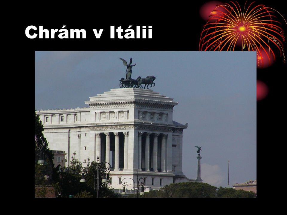 Chrám v Itálii