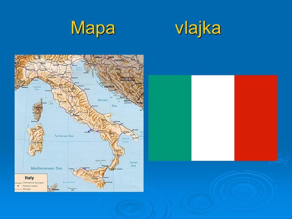 Mapa vlajka