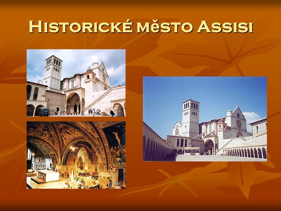 Historické město Assisi