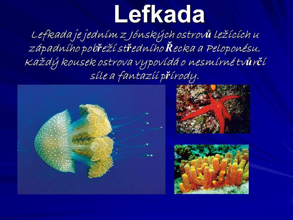 Lefkada Lefkada je jedním z Jónských ostrovů ležících u západního pobřeží středního Řecka a Peloponésu.