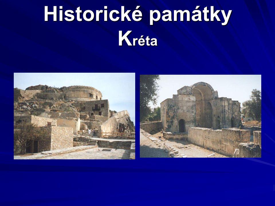 Historické památky Kréta
