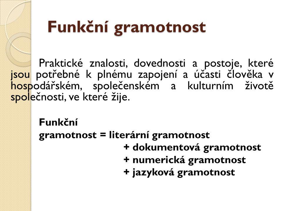 Funkční gramotnost