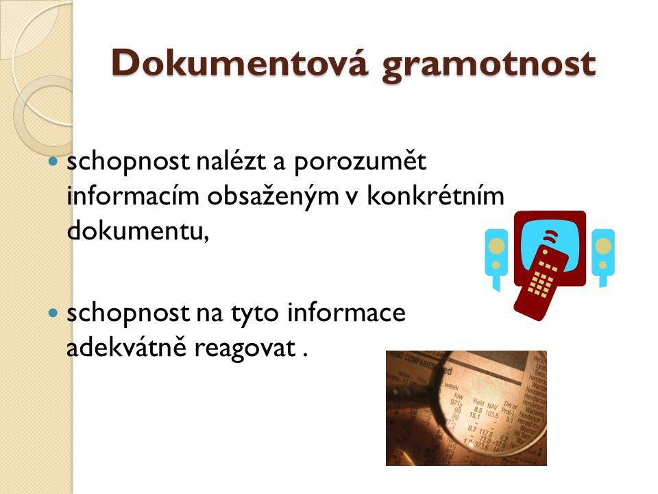 Dokumentová gramotnost