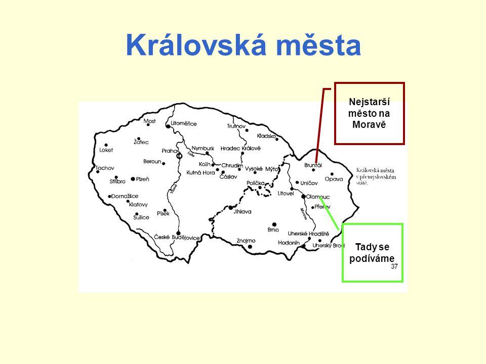 Nejstarší město na Moravě