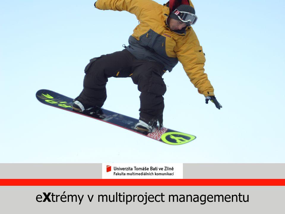 eXtrémy v multiproject managementu