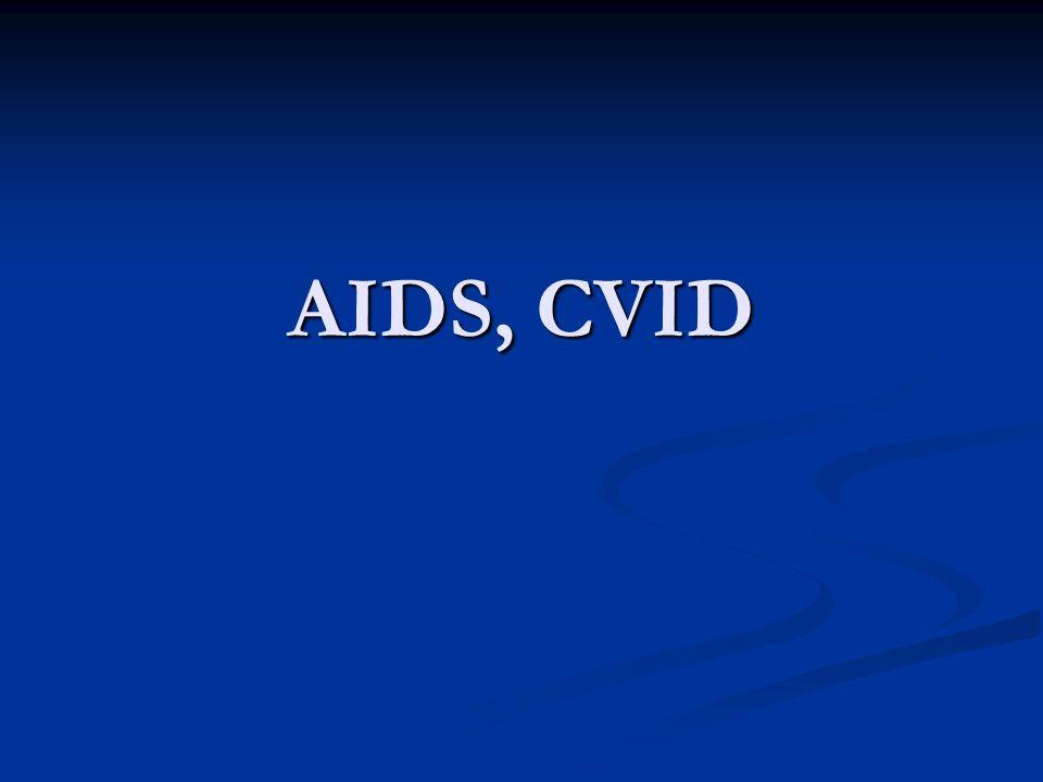AIDS, CVID