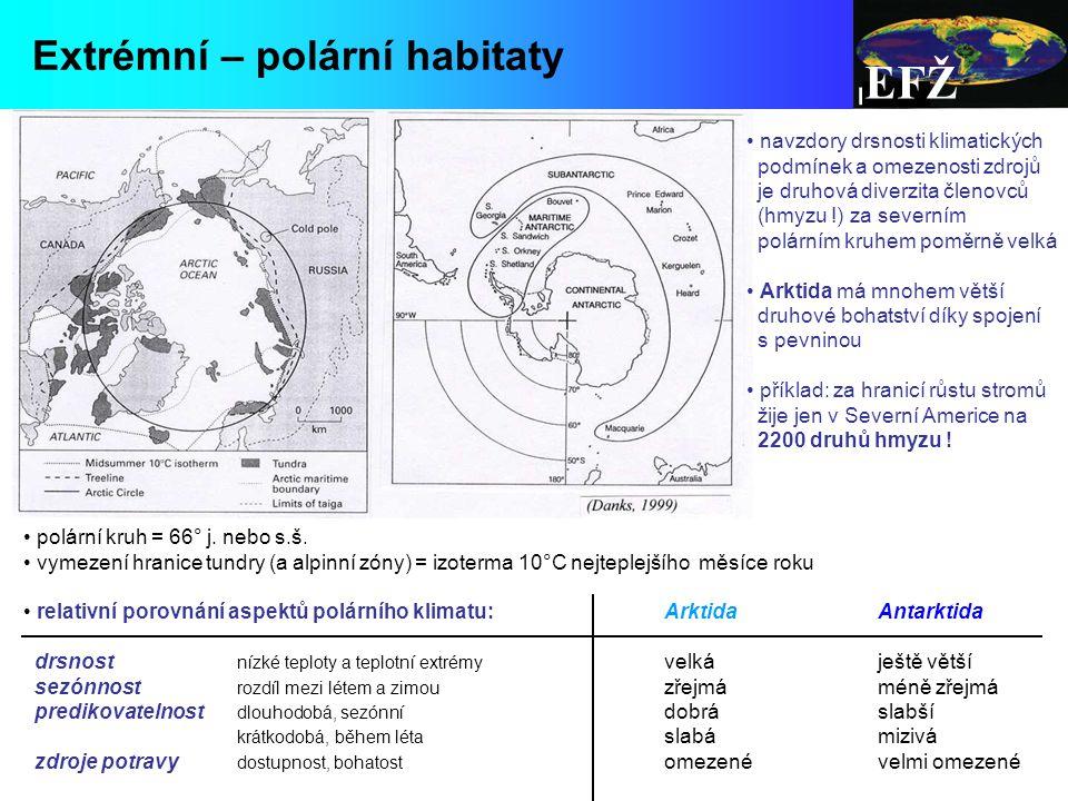 EFŽ Extrémní – polární habitaty navzdory drsnosti klimatických