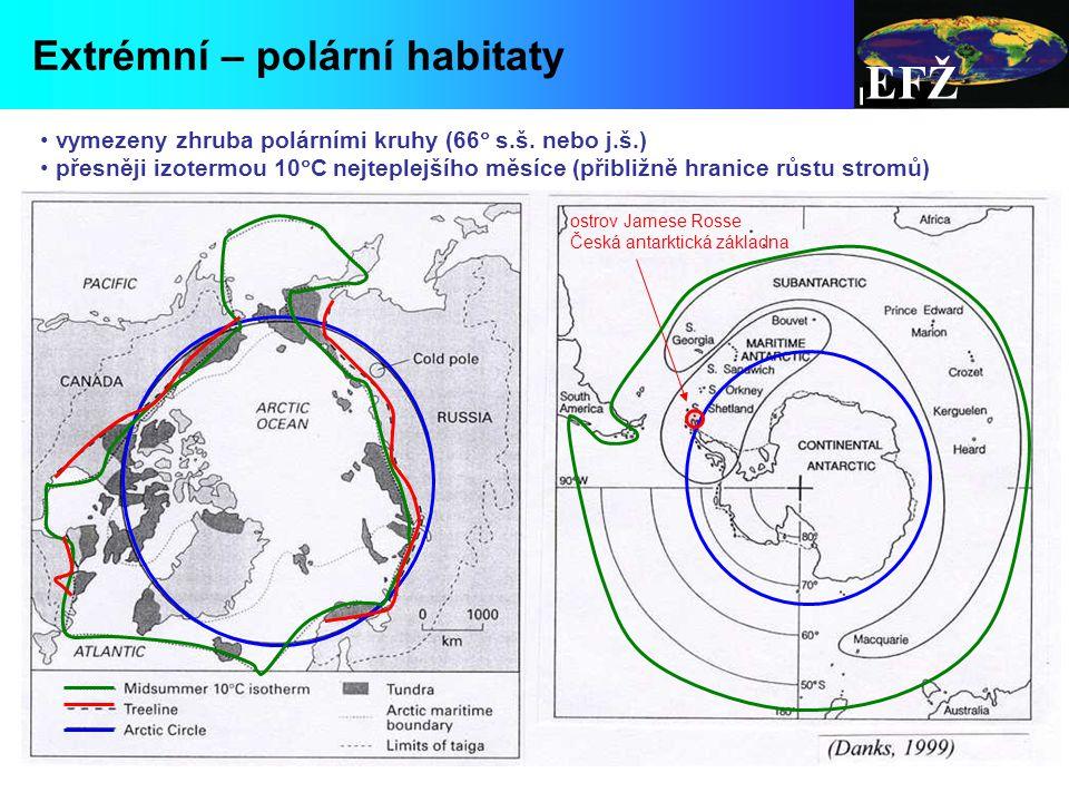 EFŽ Extrémní – polární habitaty