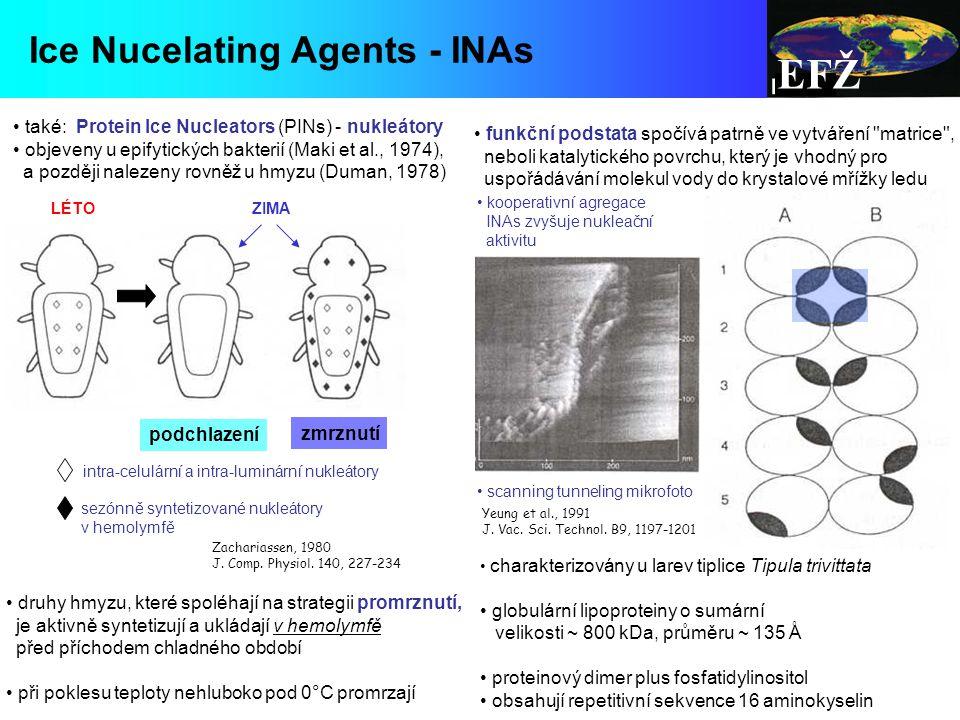 EFŽ Ice Nucelating Agents - INAs