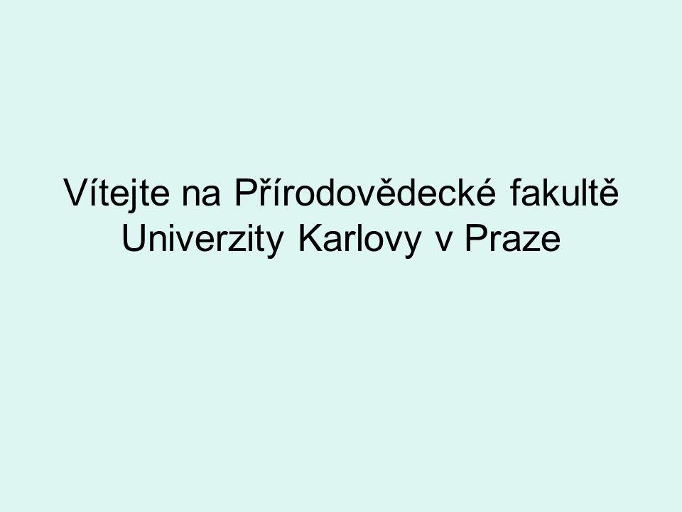 Vítejte na Přírodovědecké fakultě Univerzity Karlovy v Praze
