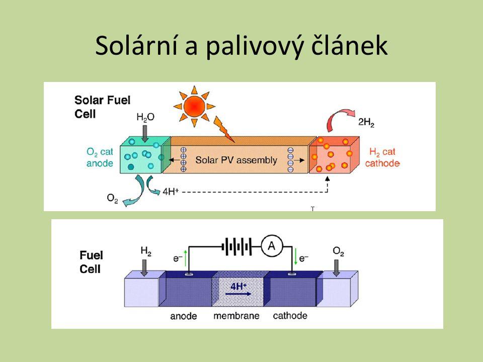 Solární a palivový článek