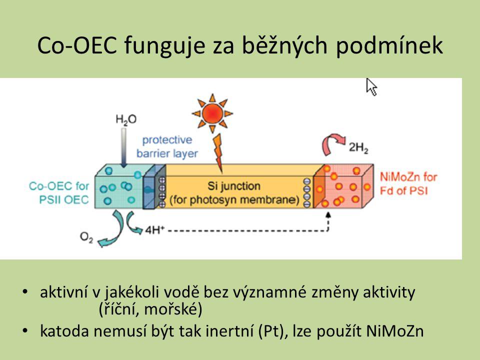 Co-OEC funguje za běžných podmínek