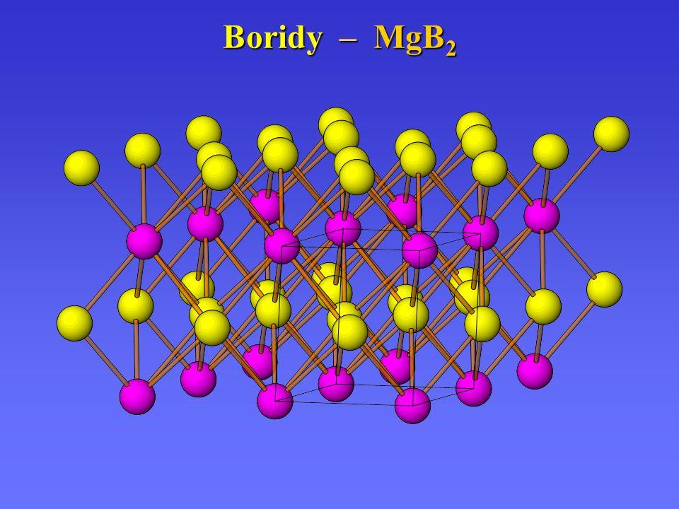 Boridy – MgB2