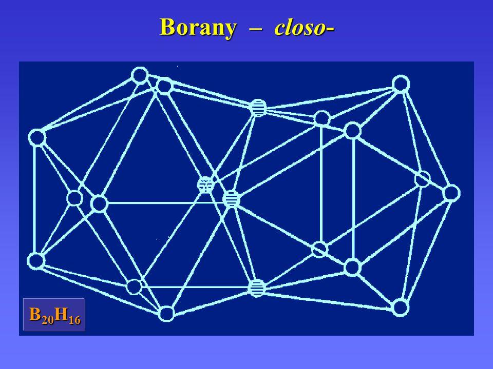 Borany – closo- B20H16