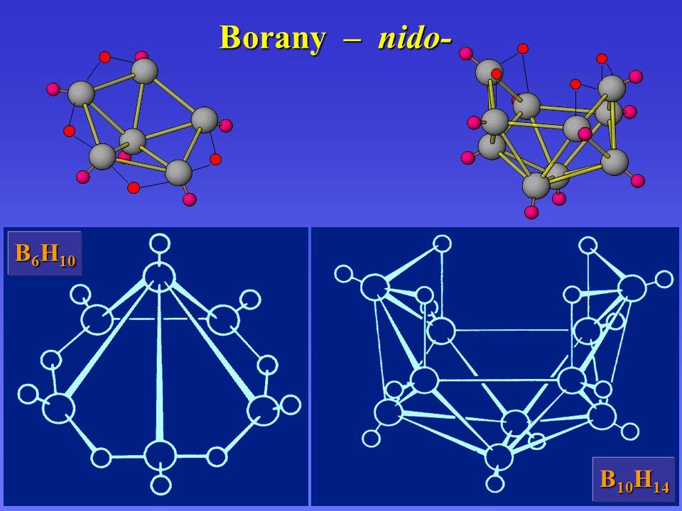 Borany – nido- B6H10 B10H14