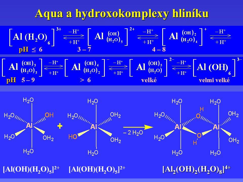Aqua a hydroxokomplexy hliníku