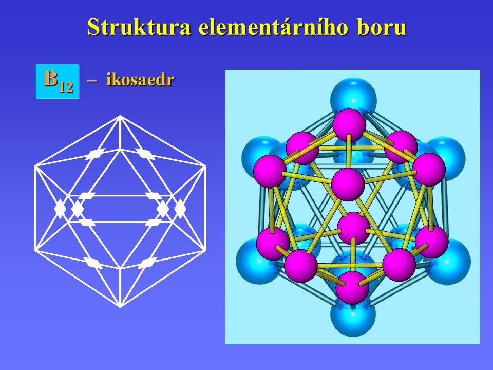 Struktura elementárního boru