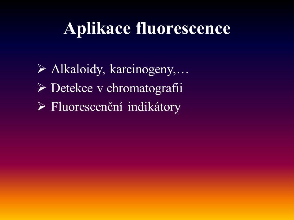 Aplikace fluorescence