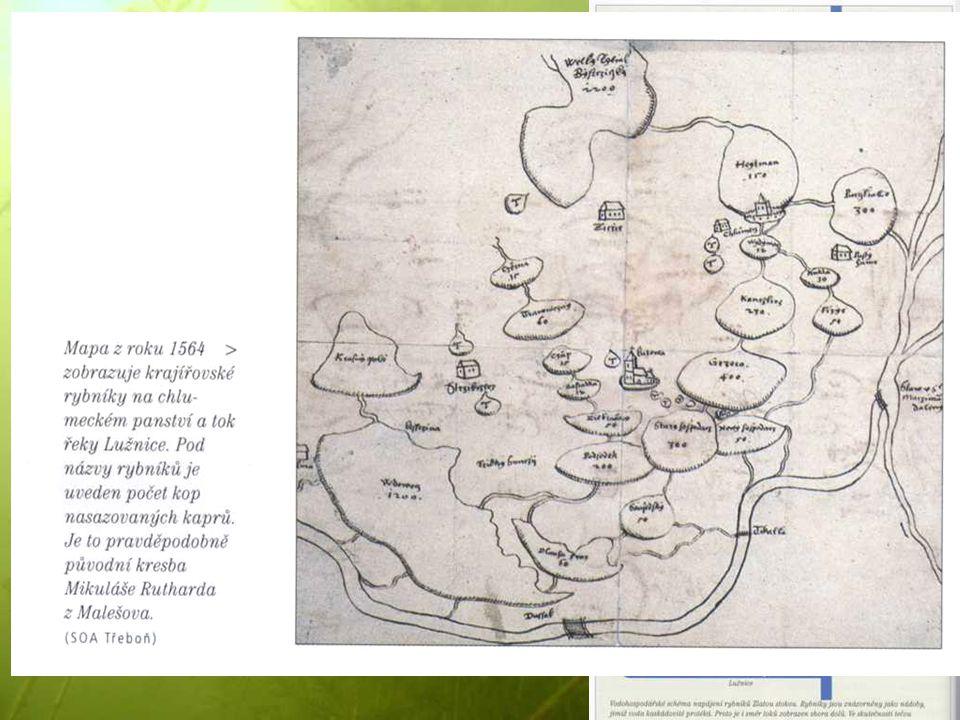 Rybníky U Nových Hradů – r. Žár (Žďár), zmíněn v darovací listině Přemysla Otakara I. 1221.