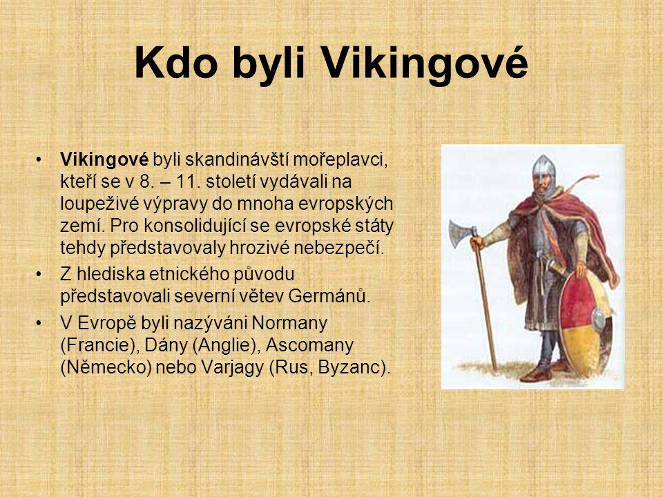 Kdo byli Vikingové