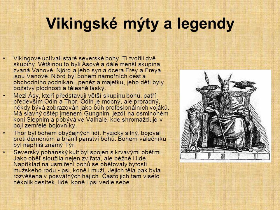 Vikingské mýty a legendy