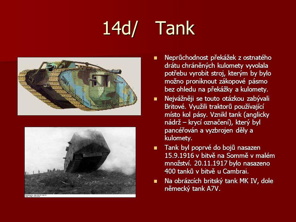 14d/ Tank