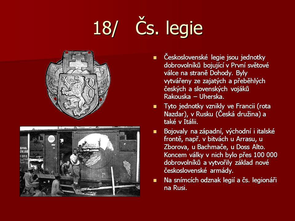 18/ Čs. legie