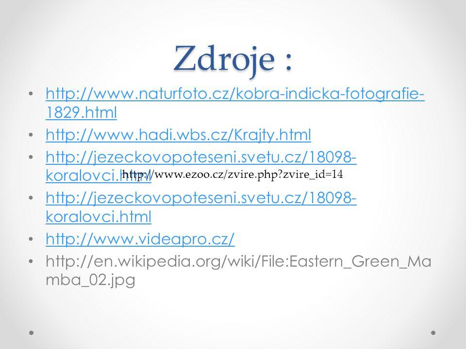 Zdroje : http://www.naturfoto.cz/kobra-indicka-fotografie-1829.html