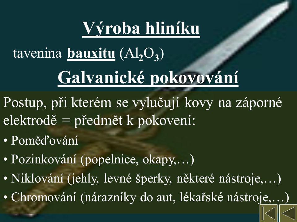 Galvanické pokovování